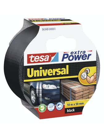 Vävtejp Tesa Extra Power Universal Svart 5cmX5m