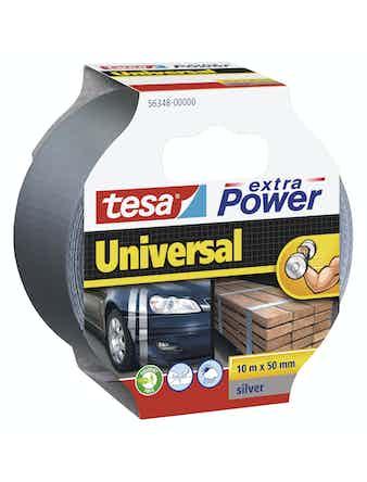 Vävtejp Tesa Extra Power Universal Grå 50mmX10m