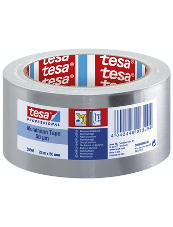Aluminiumtejp Tesa Label 25m