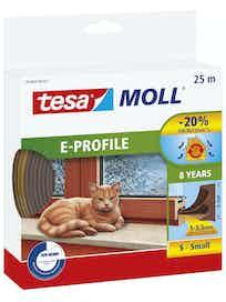 TIIVISTE TESA E-PROFIILI 25M 9X4MM RUSKEA