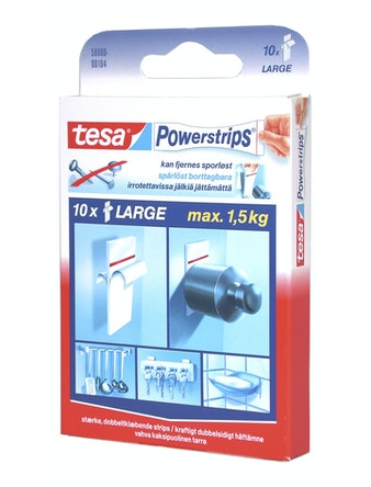 Powerstrips Tesa Large Dubbelhäftande