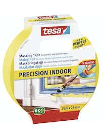 Maskeringstejp Tesa Precision Inomhus 25mmX25m