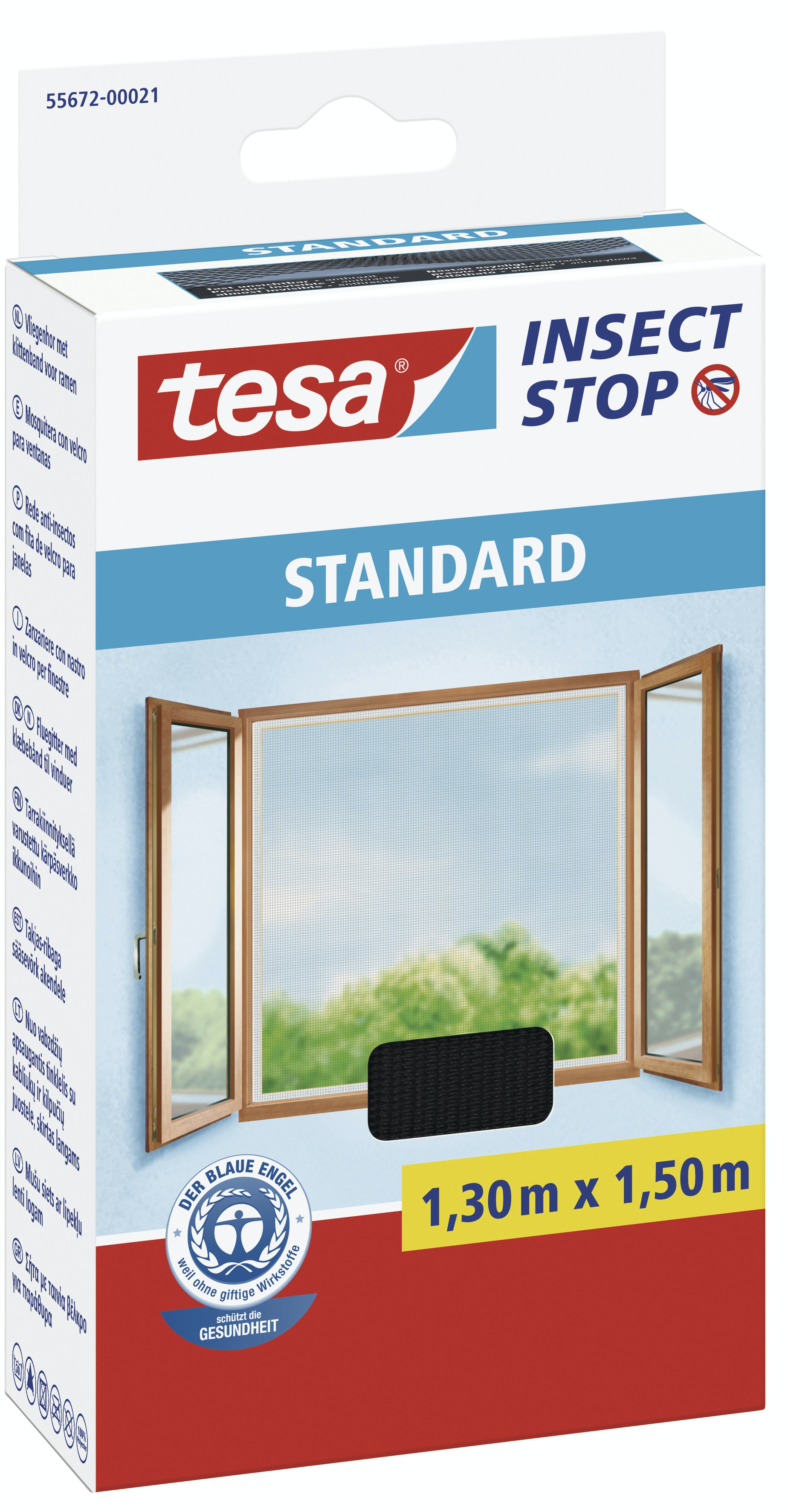 tesa insektsnät fönster