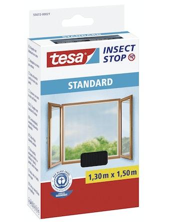 Insektsnät Tesa Standard För Fönster 5M Svart