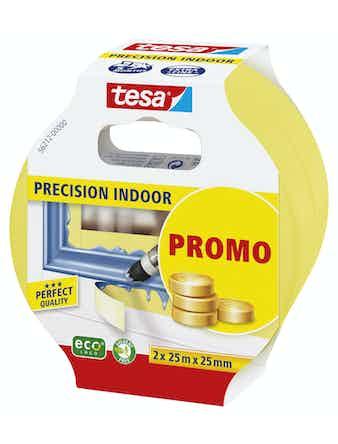 Målartape Tesa Precision Inne Promo 25mm x 25m 2st