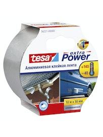 Лента алюминевая клейкая 10м x 50мм Tesa Extra Power