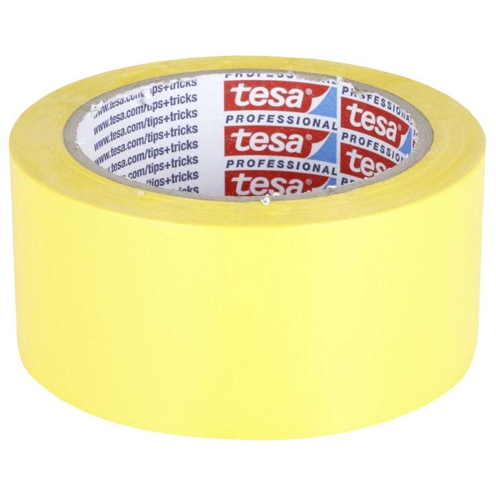 Bygg- och skyddstejp Tesa Professional Basic Plastering Gul 50mmx33m