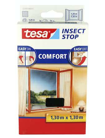 Insektsnät Tesa För Fönster 1,3X1,3m Svart