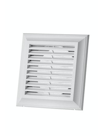Решетка вентиляционная Blauberg, 140 х 140 мм, белая