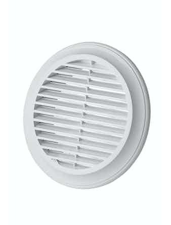 Решетка вентиляционная Blauberg Decor 9402, 125 мм, белая