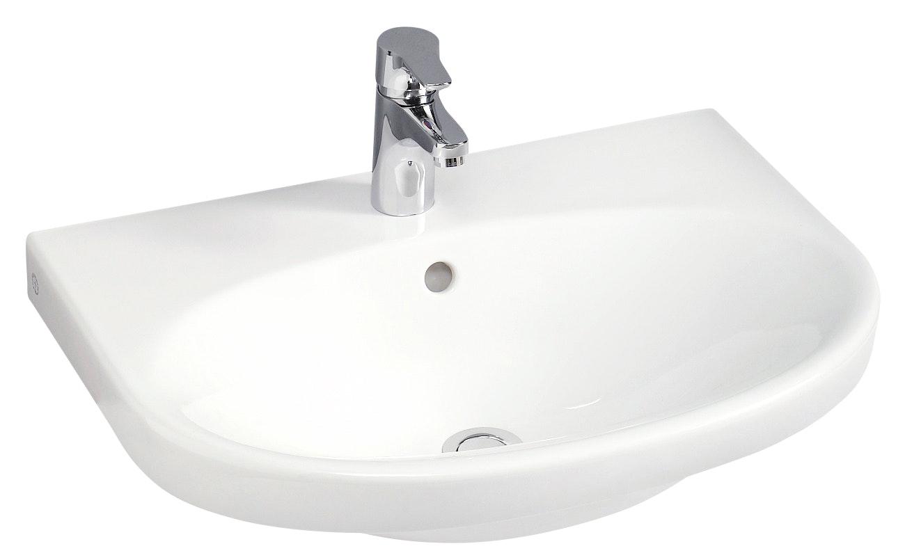 Tvättställ Gustavsberg Nautic 5556 Vit 560X430