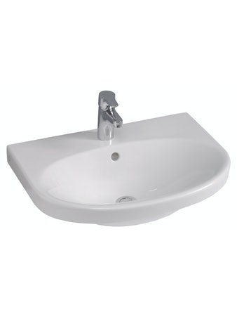 Tvättställ Gustavsberg 5556C+ Nautic Vit