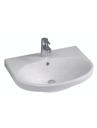 Tvättställ Gustavsberg Nautic 5560 Vit 600X460