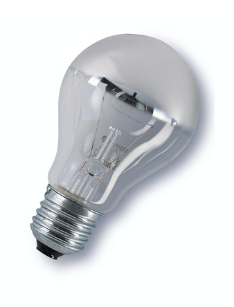 Glödlampa Osram Toppförspeglad Silver 60W/E27