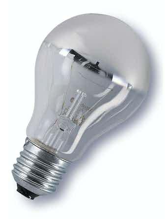 Glödlampa Osram Toppförspeglad Silver 100W/E27