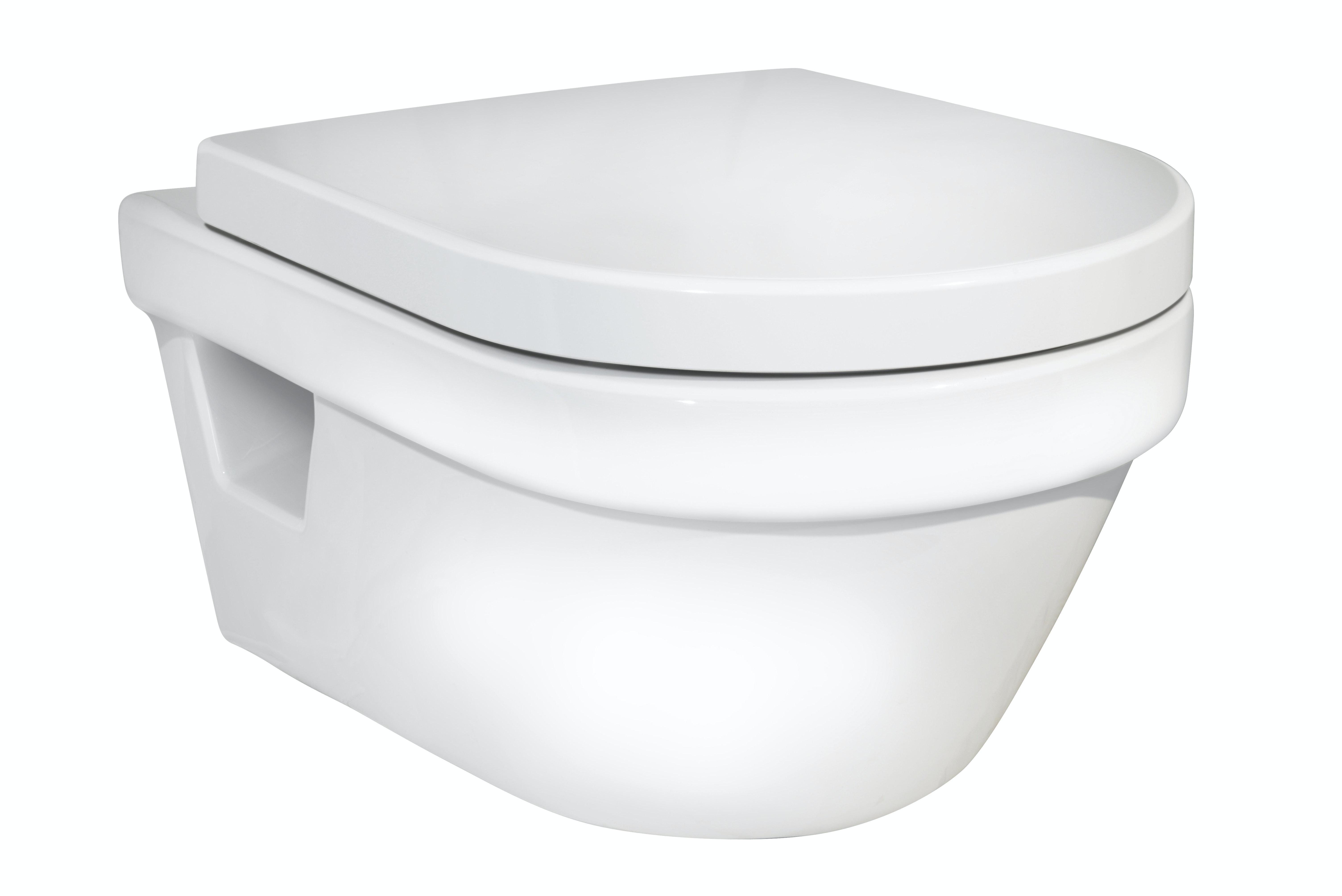 Wc-Vägghängd Gustavsberg 5G84- Hygienic Flush