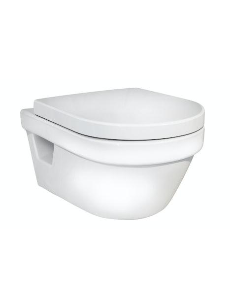 WC-ISTUIN GUSTAVSBERG 5G84 HYGIENIC FLUSH SEINÄ 5G84HR01