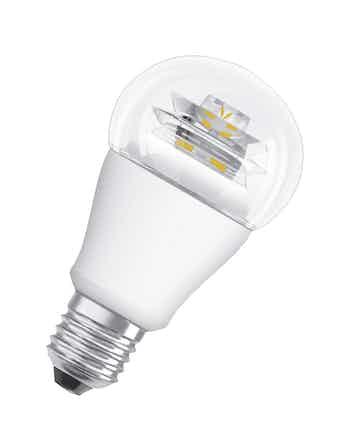 Лампа LED OSRAM станд,10W,806lm,E27,теп