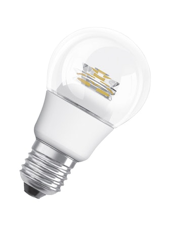 Ledlampa Osram A40 7,5W E27 Klar