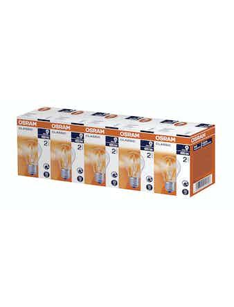 Glödlampa Ledvance Halogen 5-pack E27 30W