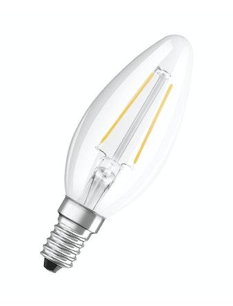 Led-lampa Osram Retrofit Filament CLB15 Kron E14 1,2W
