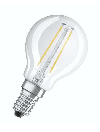 Led-lampa Osram Retrofit Filament CLP15 Klot E14 1,2W