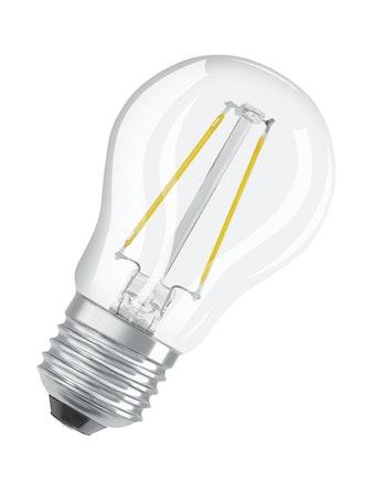 Led-lampa Osram Retrofit Filament CLP15 Klot E27 1,2W