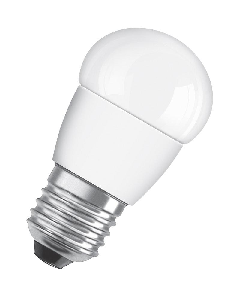 Led-Lampa Osram CLP25 E27 Klot 827 3,8W Dimbar Matt