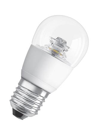 Ledlampa Osram Klot Star Classic P 5,8w E27 Klar