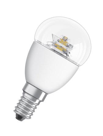 Ledlampa Osram Klot Star Classic P 6w E14 Klar