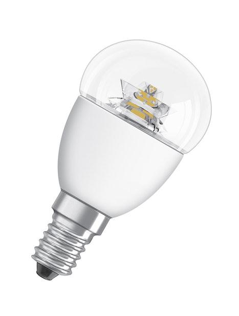 LED-MAINOSLAMPPU OSRAM STAR CLASSIC P40 827 E14 KIRKAS