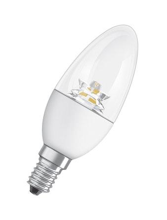 Лампа LED OSRAM свеча 6W,470lm,E14,проз