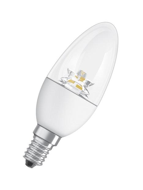 LED-KYNTTILÄLAMPPU OSRAM STAR CLASSIC B40 827 E14 KIRKAS