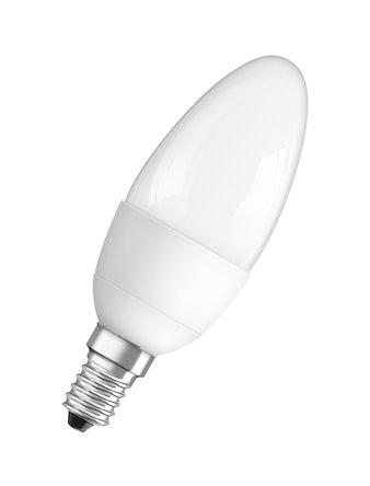 Лампа LED OSRAM свеча 6W,470lm,E14,мат.