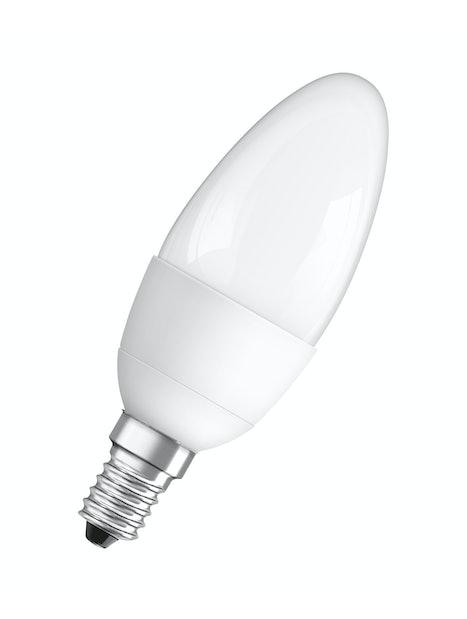 LED-KYNTTILÄLAMPPU OSRAM STAR CLASSIC B40 827 E14 MATTA