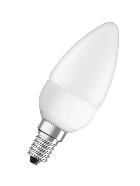 LED-KYNTTILÄLAMPPU OSRAM STAR CLASSIC B25 827 E14 MATTA
