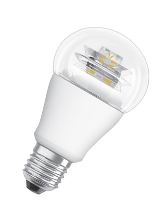Led-Lampa Osram CLA60 E27 827 10W Dimbar Klar