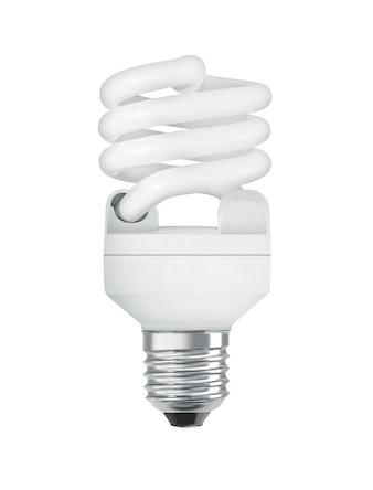 Лампа энергосберегающая Osram спираль, 12 Вт х E14, холодный свет