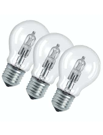 Halogenlampa Osram Eco Normal 46W E27 3-Pack