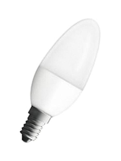 LED-KYNTTILÄLAMPPU NEOLUX B40 470LM/827 E14 HIMMEÄ