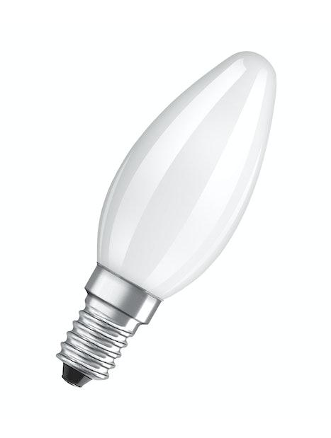 LED-KYNTTILÄLAMPPU OSRAM RETROFIT B25 250LM 827 E14 HIMMEÄ