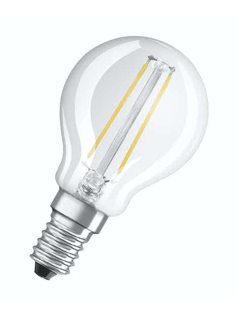LED-MAINOSLAMPPU OSRAM RETROFIT P25 230LM 827 E14 FIL