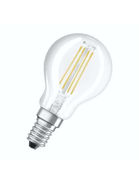 LED-MAINOSLAMPPU OSRAM RETROFIT P37 430LM 827 E14 FIL