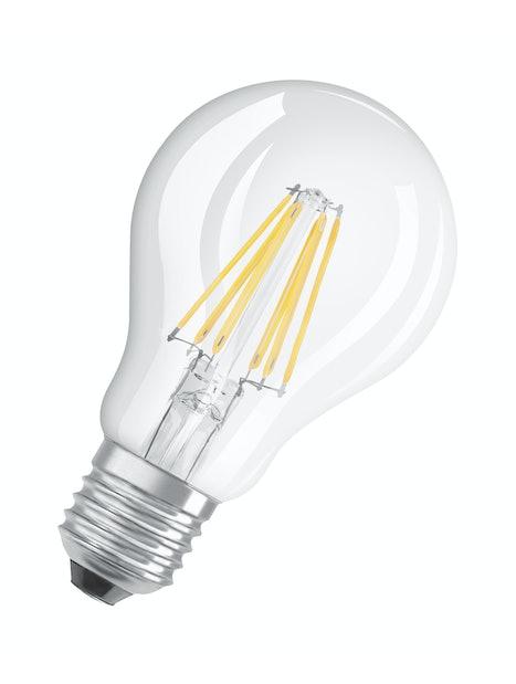 LED-LAMPPU OSRAM RETROFIT 806LM 827 E27 HIMMENNETTÄVÄ