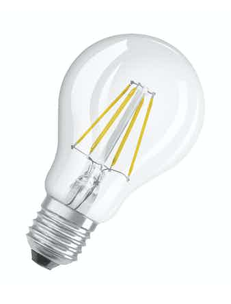 Led-lampa Osram Retrofit Filament Dim CLA40 Normal E27 4,5W