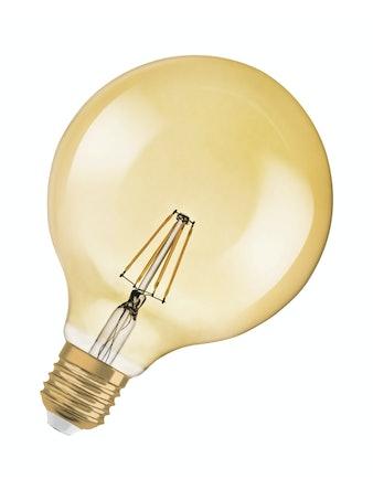 Led-Glob Osram Vintage 1906 35W E27 410LM/824 Filament Guld