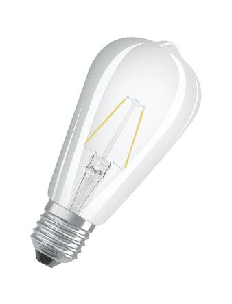 Led-lampa Osram Retrofitfit Filament ST64 25 Edison E27 2W