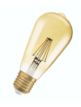 Led-lampa Vintage 1906 Glob 35W E27 470LM/824 Filament Guld