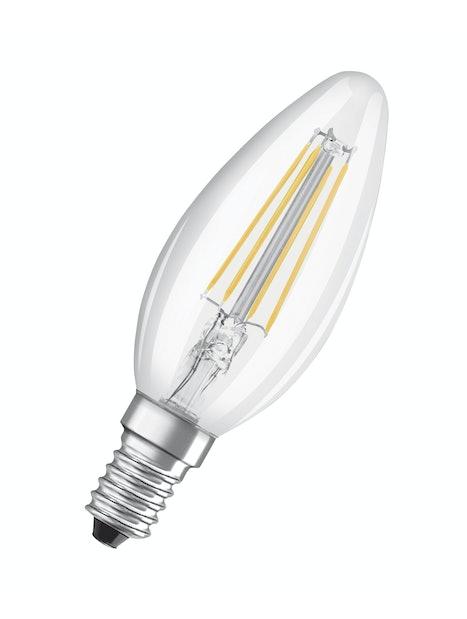 LED-LAMPPU OSRAM RETROFIT BASE B40 470LM 827 E14 2KPL