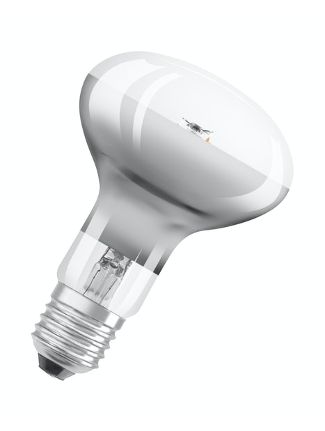 LED-LAMPPU OSRAM RETROFIT R80 345LM 827 E27